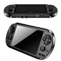 """128Bit 8GB X9S Handheld 5.1""""Screen MP3 Player Game Console Built-in 1000+ Game"""