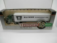 LIBERTY CLASSICS DIE CAST BANK KENWORTH 18 WHEELER OLIVER CORPORATION