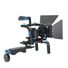 Fr 15mm Rail Rod Rig Suppot System Follow Focus DSLR DV Video Camera Matte Box