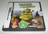 Shrek the Third Nintendo DS 2DS 3DS Game *Complete*