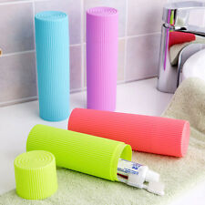 Toothbrush Toothpaste Travel Storage Casae Box Clamping Clean Plastic Holder