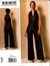 Vogue Sewing Pattern V1506 1506 Misses Jumpsuit Tom Linda Platt NEW Size Lrg-Xxl