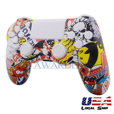 Game Full Housing Shell Case for Sony Playstation 4 PS4 Controller Sticker Bomb