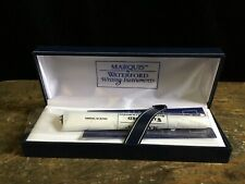 Marquis By Waterford Writing Instrument Blue Ballpoint Pen, New In Box