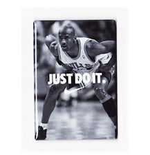 "MICHAEL JORDAN / JUST DO IT 2""x3"" POSTER FRIDGE MAGNET (nike air costacos bulls"