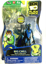 BEN 10 TENNYSON ALIEN FORCE COLLECTION #27450 BIG CHILL ACTION FIGURE RARE NEW
