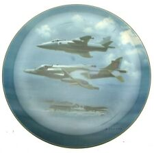 More details for coalport the harrier plate 1987 frank wootton limited edition plate of 5000