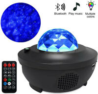 Blueteeth LED Galaxy Projector Starry Night Lamp Star Projection Night Light USB