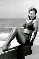 Lovely Photos of Carole Landis, the Tragic Beauty in the 1940s Old Photo 4x6 W