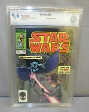 STAR WARS #88 (Lumiya 1st app.) White Pages CBCS 9.6 NM+ Marvel Comics 1984 cgc