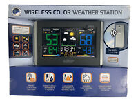 C85845 La Crosse Technology Wireless Color Weather Station with TX141TH-BV2 NEW