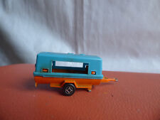 Majorette Mobile Generator Camper Trailer 21760 Vintage Diecast Toy Collectible