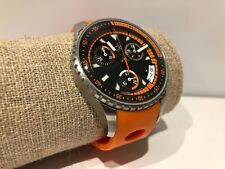 Usado - Reloj Watch Montre CK Calvin Klein - Quartz - Chronograph - Orange Strap