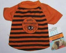 Martha Stewart Pets Happy Halloween dog shirt with spider Size XS costume NWT