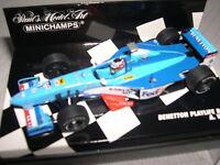 Minichamps Benetton Playlife B 198 Wurz  ref 430 980006