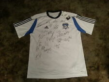 SAN JOSE EARTHQUAKES MLS SIGNED 2013 SOCCER JERSEY