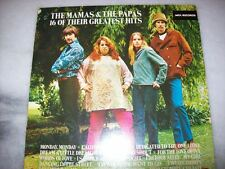 LP - THE MAMAS & THE PAPAS - 16 OF THEIR GREATEST HITS -  1986 - BRAZIL