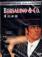 Borsalino & Co. DVD Alain Delon Ricardo Cucciolla NEW R0 English Sub