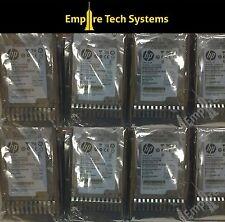 """HP 146GB 15K 2.5"""" 6G DUAL PORT SAS DRIVE 512547-B21 EH0146FAWJB"""