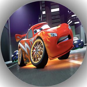 Fondant Tortenaufleger Tortenbild Cars N2