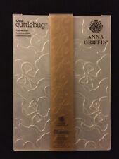 Cricut Cuttlebug Embossing Folder by Anna Griffin, *Dancing Bows*, 5x7