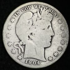 1904-S Barber Half Dollar CHOICE  FREE SHIPPING E373 ANM