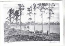 "*Postcard-""Lake DeFuniak"" w/Man Looking On-  *DeFunaik Springs, FL (#190)"