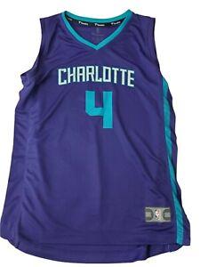 Fanatics NBA Youth Size Medium Charlotte Hornets Devonte' Graham Jersey