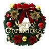 Christmas Wreath Fireplace Door Wall Hanging Garland Ornament  Xmas Tree Decor