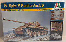 1/35 Scale Italeri 'Pz.Kpfw.V Panther Ausf.D' Item #6473