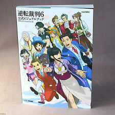 Gyakuten Saiban / Ace Attorney 6 Official Visual Book - game artbook NEW