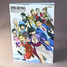 GYAKUTEN saiban/Ace Attorney 6 libro Visual oficial-Juego Libro De Arte Nuevo