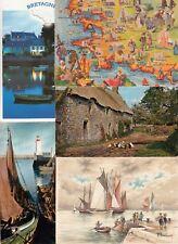 Lot 81 cartes postales de 1950 à 2000 FINISTERE