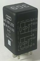 Audi A4 A6 SHO 6 Pin Black 369 Double Relay 4A0951253 SHO 898700000
