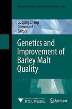 Genetics and Improvement of Barley Malt Quality (2009, Hardcover)