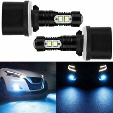 2x 880 890 892 893 899 50W 8000K Ice Blue Led Projector Fog Light Bulbs USA