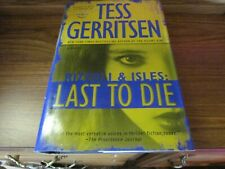 Last To Die by Tess Gerritsen Large Print Book Save w/Combined Shipping!