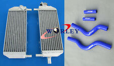 For Suzuki RM250 RM 250 2001-2008 2002 2003 2004 2006 aluminum radiator and hose