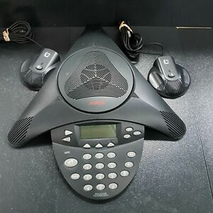 Avaya 1692 Conference Phone Station with Microphones