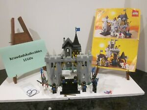 VTG LEGO CASTLE BLACK FALCONS 6074 BLACK FALCON'S FORTRESS COMPLETE WITH MANUAL
