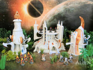 CC3D - Eldari/ Eldar Buildings Bundle - Wargames Miniatures Scenery 40k