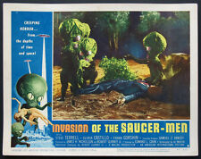 INVASION OF THE SAUCER-MEN CABBAGE HEADED ALIEN SCI-FI 1957 LOBBY CARD #3