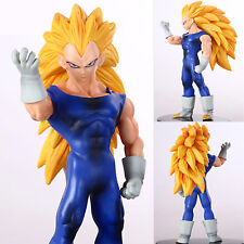 Anime Vegeta Dragon Ball Z DBZ Super Saiyan 3 Figure PVC Figurines Kids Toy Gift