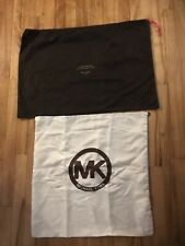 Michael Kors Kate Spade Dust Bags OffWhite & Brown organiser Lot
