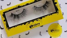 Eldora False Eyelashes M114 Multi-Layered Human Hair Strip Lashes