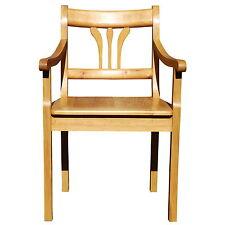 Biedermeier Armlehnstuhl, reprostyle B2 Erle, Landhausstuhl, Stühle, Lehnstuhl
