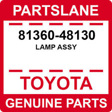 81360-48130 Toyota OEM Genuine LAMP ASSY