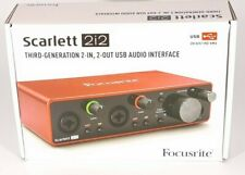 Focusrite Scarlett 2i2 3rd Gen Professional USB Audio Interface 2 Days Delivery