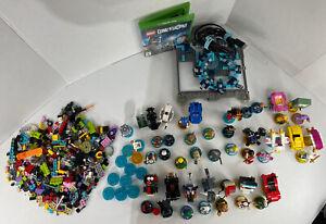 Massive LEGO Dimensions Mini Figurine & Vehicle Lot, Portal & Xbox One Disc Rare