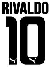 More details for olympiakos rivaldo nameset shirt soccer number letter heat football maglia